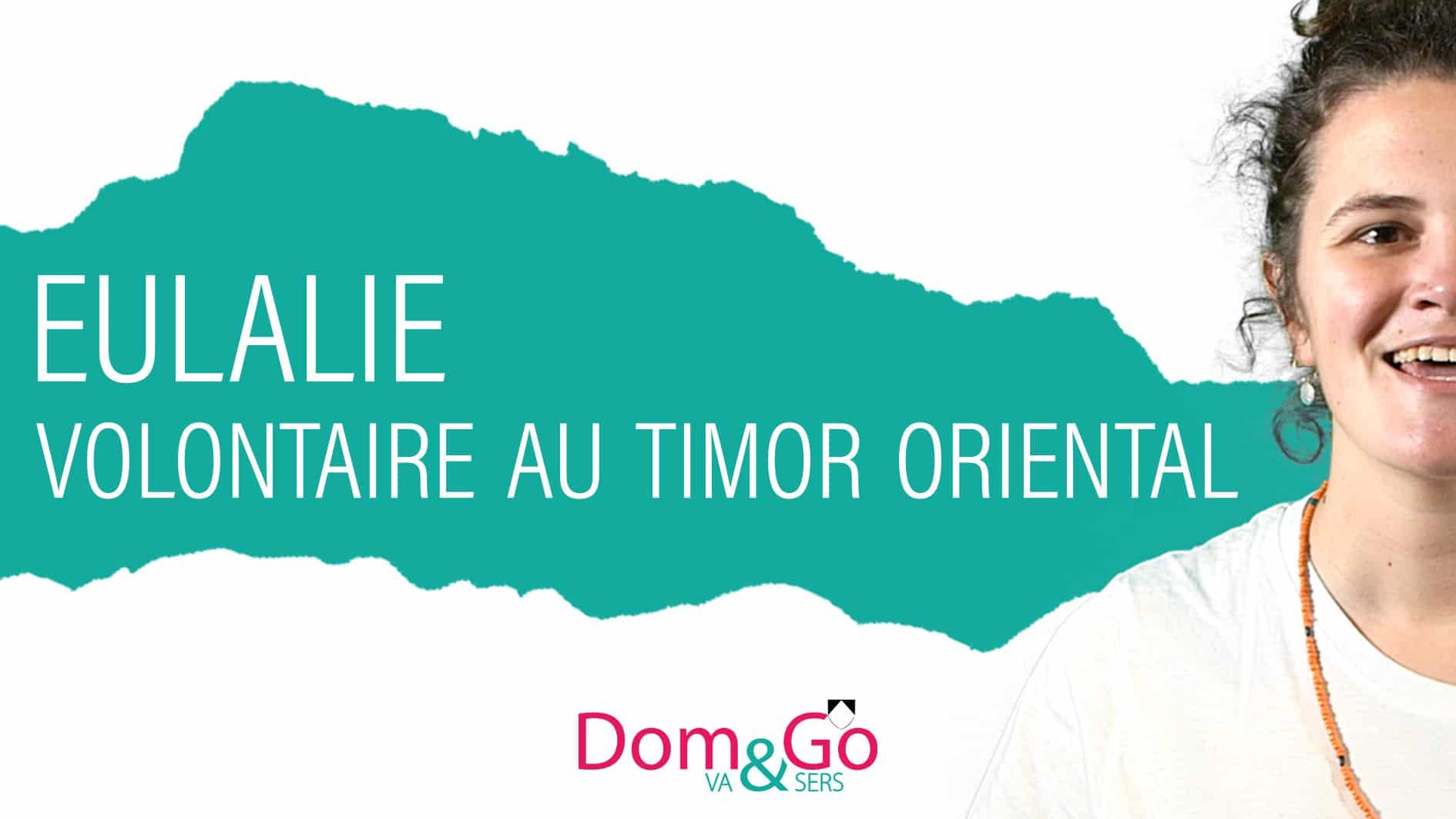 EULALIE l Timor Oriental (vignette Dom&Go)